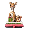 Rudolph by Jim Shore Figurine - Rudolph Stocking Hanger