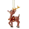 Traditions by Jim Shore Ornament - Rudolph w/Gold Accents