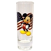 Disney Collector Glass - Florida Souvenir - Mickey Mouse Flag