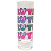 Disney Collector Glass - Florida Souvenir - Minnie - Love