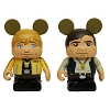 Disney Vinylmation 3'' Set - Star Wars Weekends 2015 - Luke and Han Solo