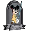 Disney Pin - Galactic Gathering 2015 - Jedi Mickey Mouse Logo