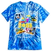 Disney Adult Shirt - 2015 Mickey Mouse and Friends - Tie-Dye