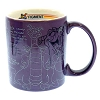 Disney Coffee Cup Mug - EPCOT Center - Figment - Sketch