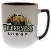 Disney Coffee Cup Mug - Disney's Wilderness Lodge - Bear Logo