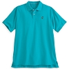 Disney ADULT Shirt - Mickey Mouse Polo - Teal
