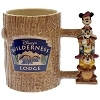 Disney Coffee Cup Mug - Wilderness Lodge - Sculptured  Mug - Totem