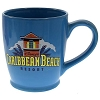 Disney Coffee Cup Mug - Caribbean Beach - Logo - Blue