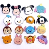 Disney Mystery Pins - Disney Tsum Tsum - Complete 16 Pins