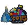 Disney Annual Pin - 2015 Retro Castle - Cinderella