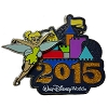 Disney Annual Pin - 2015 Retro Castle - Tinker Bell