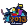 Disney Annual Pin - 2015 Retro Castle - Stitch
