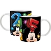 Disney Coffee Mug - 2015 Pow Mickey - Pluto Goofy