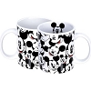 Disney Coffee Mug - Mickey Toss Print - White