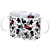 Disney Coffee Mug - Minnie Toss Print - White