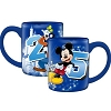 Disney Coffee Mug - 2015 Fab Four Mickey Goofy Donald Pluto
