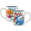 Disney Coffee Mug - 2015 Pow Group Mickey Minnie Donald Goofy