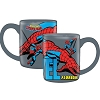 Disney Coffee Mug - Marvel Spiderman - Gray