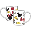 Disney Coffee Mug - Mickey Minnie Toss Parts