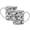 Disney Coffee Mug - Minnie Grid