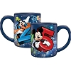 Disney Coffee Relief Mug - 2015 Mickey Goofy - Pluto Donald