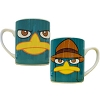 Disney Perry Faces Porcelain Mug