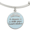Disney Alex and Ani Charm Bracelet - A Dream is a Wish - Silver