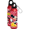 Disney Water Bottle - Minnie Mouse All About Me - Aluminum - Wide Mouth - Red