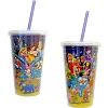 Disney Thermal Tumbler with Straw - Group Cast Tumbler
