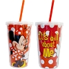 Disney Thermal Tumbler with Straw - Minnie Mouse All About Me