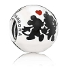 Disney PANDORA Charm - Mickey and Minnie Mouse Forever Charm