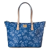 Disney Dooney & Bourke Bag - Disney World Blue Disneyana - Shopper