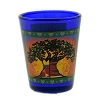 Disney Shot Glass - Park Logo - Animal Kingdom - Blue Glass