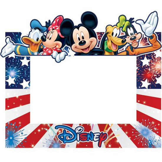 disney picture frame 4 x 6 mickey gang freedom - Disney Photo Frames