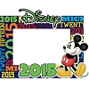 Disney Picture Frame - 4 X 6 - 2015 Mickey Words