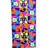 Disney Beach Towel - Mickey Mouse Neon Pop Mickey Heads