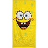 Disney Beach Towel - Sponge Face