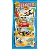 Disney Beach Towel - Mickey Mouse and Friends Florida Postcards - Florida Namedrop