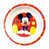 Disney Plastic Bowl - Mickey Mouse Stars - Red