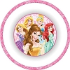 Disney Plastic Bowl - True Royalty - Princesses
