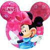 Disney Plastic Plate - Minnie Mouse - Pink