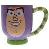 Disney Coffee Cup Mug - Striped Coffee Mug - Buzz Lightyear
