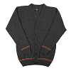 Universal Adult Cardigan - Gryffindor  - Grey with Red and Gold