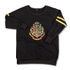 Universal Ladies Shirt - Hogwarts Ladies Tunic Fleece - Black