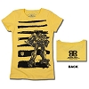 Universal Girls Shirt - Transformers Bumblebee Striped