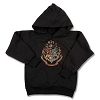 Universal Youth Sweatshirt - Hogwarts Crest - Hooded
