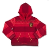 Universal Girls Sweatshirt - Gryffindor Striped - Hooded