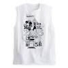 Disney Adult Shirt - 2015 Mickey Mouse and Friends - Sleeveless White
