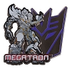 Universal Pin - Transformers Megatron Pin On Pin