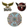 Universal Pin - Quidditch World Cup Pin Set